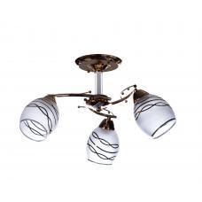 Люстра потолочная SunLight 0369/3 N  — купить в интернет-магазин светильников ☀ Sun-light