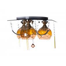Люстра потолочная SunLight 94/3 YB — купить в интернет-магазин светильников ☀ Sun-light