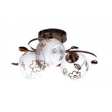 Люстра потолочная SunLight 0607/3 K  — купить в интернет-магазин светильников ☀ Sun-light
