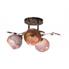 Люстра потолочная SunLight 019/3C LM — купить в интернет-магазин светильников ☀ Sun-light