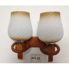 Бра стеклянная SunLight  A1428/2   — купить в интернет-магазин светильников ☀ Sun-light