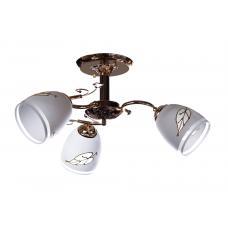 Люстра потолочная SunLight 923/3C LM  — купить в интернет-магазин светильников ☀ Sun-light