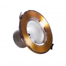 Фото -Светильники точечные потолочные - Точечный врезной светильники SunLight 12 GOLD