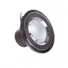 Фото -Светильники точечные потолочные - Точечный врезной светильники SunLight 12 SILVER